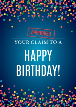 Your Birthday Claim Card