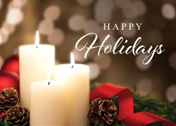 Holiday Candlelight - Holiday Greeting Card