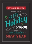 Holiday Policy - Holiday Greeting Card