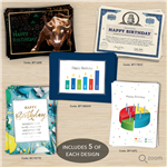Variety Pack Financial Birthday Assortment