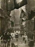 Wall Street Celebration as Germany Surrenders Print Large