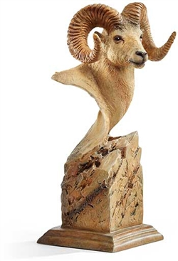 Summit  - Bighorn Sheep Sculpture
