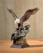 Totem - Bald Eagle Sculpture