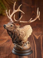 Primal Call - Elk Sculpture