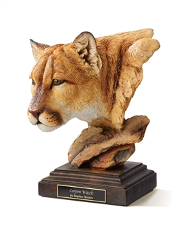 Cougar Sculpture - Canyon Watch