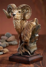 Level Headed - Bighorn Sheep Sculpture