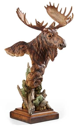 Heavy Weight - Moose Sculpture