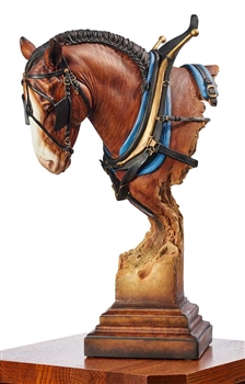 Clydesdale Sculpture - A Light Burden