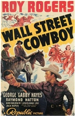 Wall Street Cowboy Punch Scene Poster