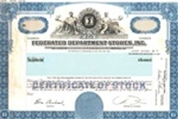 Federated Department Stores, Inc. Stock Certificate Mock-up