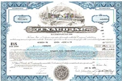 Texaco, Inc. Stock Certificate