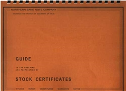 Northern Bank Note Company Guide to Stock Certificates