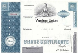 Western Union Telegraph Co Common Stock