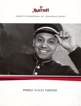 2008 Marriott International, Inc. Annual Report