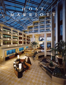 2002 Host Marriott Annual Report