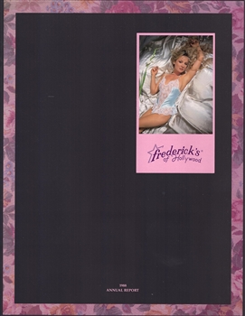 1988 Frederick's of Hollywood Annual Report