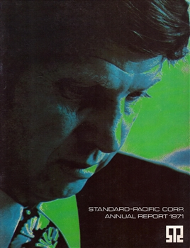 1971 Standard Pacific Corp. Annual Report