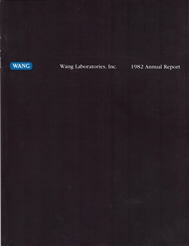 1982 Wang Laboratories Inc. Annual Report
