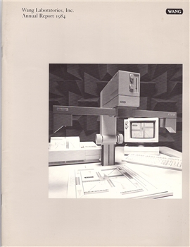 1984 Wang Laboratories Inc. Annual Report