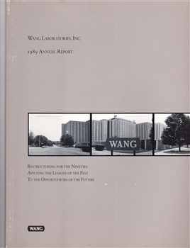 1989 Wang Laboratories Inc. Annual Report