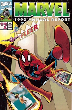 1992 Marvel Annual Report - Spider-Man Cover #2