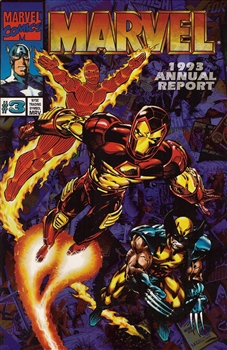1993 Marvel Annual Report - Cover #3