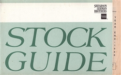 1990 Shearson Lehman Brothers Stock Guide