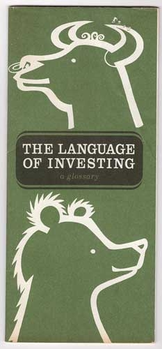 Language of Investing Glossary - NYSE 1968