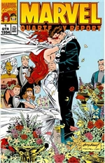 Marvel Quarterly Report - Jean Grey & Cyclops Wedding - X-Men