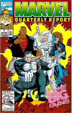 Marvel Quarterly Report - Punisher Cover 1992