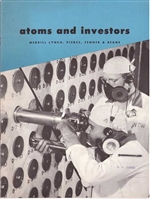 1955 Atoms and Investors - Merrill Lynch Booklet