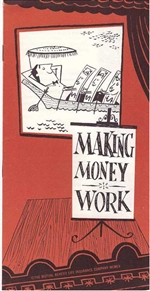 Making Money Work Booklet  - 1950s