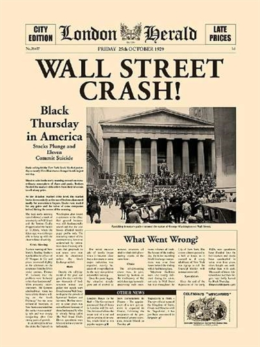 Image result for what was the date of the 1929 stock market crash