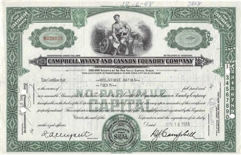 Campbell, Wyant and Cannon Foundry Company - 1944
