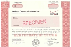 Verizon Communications Specimen Stock Certificate