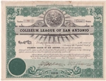 Coliseum League of San Antonio - 1913