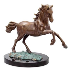 Stalwart Stallion Horse Sculpture