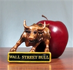 The Wall Street Bull Magnet