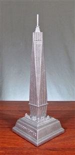 New York Freedom Tower Statue - 9""