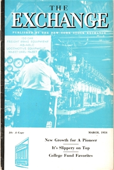 The Exchange Magazine – March 1954