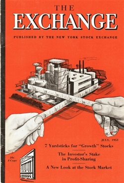 The Exchange Magazine – July 1953