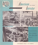 American Stock Exchange Investor Magazine - Oct. 1956