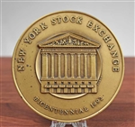 New York Stock Exchange Bicentennial Medallion - Coin