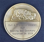 NYSE Bull & Bear Medallion / Duff & Phelps Corp -Bronze
