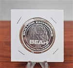 Bear Silver Coin - .9999 Silver - 1 Troy Oz