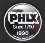 Philadelphia Stock Exchange 200 Year - .999 Silver Coin