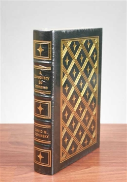 A Conspiracy So Immense by David M. Oshinsky - Easton Press Leather