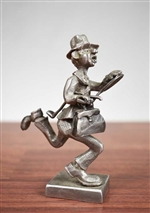 Pewter Business Man Figurine - 1977