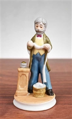 Porcelain Stock Broker Figurine - 1982