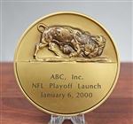 NYSE - ABC, Inc. NFL Playoffs Medallion - Bronze